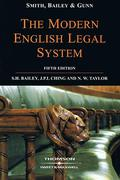 Cover of Smith, Bailey and Gunn on the Modern English Legal System