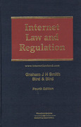 Cover of Internet Law and Regulation