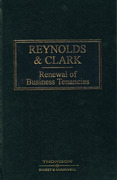 Cover of Reynolds and Clark: Renewal of Business Tenancies