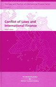 Cover of Conflict of Laws and International Finance
