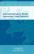 Cover of International Loans Bonds, Guarantees, Legal Opinions
