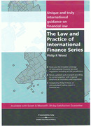 Cover of The Law and Practice of International Finance 2nd ed: Set of 7 Volumes