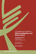 Cover of A Practitioner's Guide to FSA Investigations and Enforcement