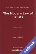 Cover of Parker & Mellows: The Modern Law of Trusts (Book & eBook Pack)