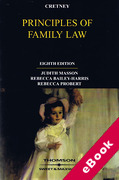 Cover of Cretney: Principles of Family Law (eBook)