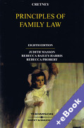 Cover of Cretney: Principles of Family Law (Book & eBook Pack)
