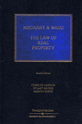 Cover of Megarry & Wade: The Law of Real Property 7th ed