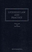 Cover of Licensing Law and Practice