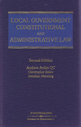 Cover of Local Government Constitutional and Administrative Law