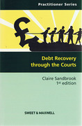 Cover of Debt Recovery Through the Courts