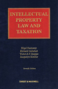 Cover of Intellectual Property Law and Taxation