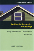 Cover of Residential Possession Proceedings