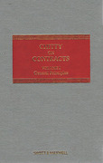 Cover of Chitty on Contracts 30th ed: Volumes 1 & 2