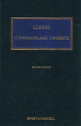 Cover of Leases: Covenants and Consents