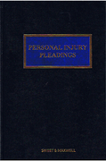 Cover of Personal Injury Pleadings