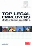 Cover of Top Legal Employers in the United Kingdom 2009