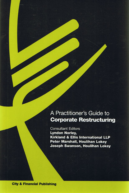 Wildy sons ltd the worlds legal bookshop search results for a practitioners guide to corporate restructuring fandeluxe Images