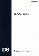 Cover of IDS: Holiday Rights