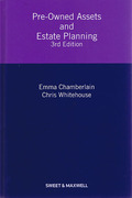 Cover of Pre-Owned Assets and Estate Planning