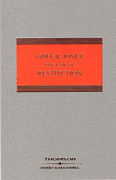 Cover of Goff & Jones: The Law of Restitution 7th ed with 1st Supplement