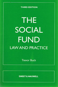 Cover of The Social Fund: Law and Practice