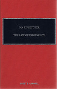 Cover of The Law of Insolvency 4th ed