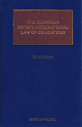 Cover of The European Private International Law of Obligations