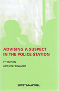 Cover of Advising a Suspect in the Police Station