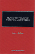 Cover of McPherson's Law of Company Liquidation