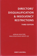 Cover of Directors' Disqualification and Insolvency Restrictions