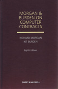 Cover of Morgan and Burden on Computer Contracts