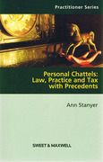 Cover of Personal Chattels: Law, Practice and Tax - With Precedents