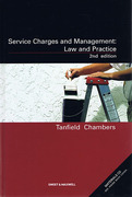 Cover of Service Charges and Management: Law and Practice