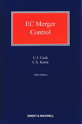 Cover of EC Merger Control