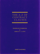 Cover of The A-Z of Contract Clauses