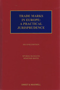 Cover of Trade Marks in Europe: A Practical Jurisprudence