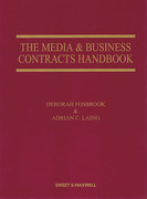 Cover of The Media & Business Contracts Handbook 4th ed