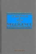 Cover of Charlesworth & Percy on Negligence 12th ed