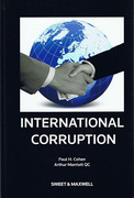 Cover of International Corruption