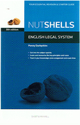 Cover of Nutshells English Legal System