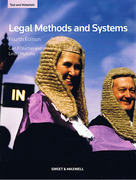 Cover of Legal Method and Systems: Text and Materials