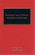 Cover of Arnould's Law of Marine Insurance and Average 17th ed with 1st Supplement