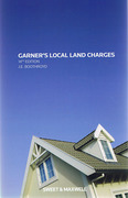 Cover of Garner's Local Land Charges