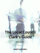 Cover of Local Council Clerk's Guide