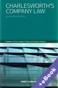 Cover of Charlesworth's Company Law (Book & eBook Pack)