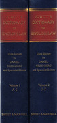 Cover of Jowitt's Dictionary of English Law