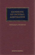 Cover of Handbook of UNCITRAL Arbitration: Commentary, Precedents and Models for UNCITRAL Based Arbitration Rules