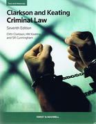 Cover of Clarkson and Keating: Criminal Law: Text and Materials
