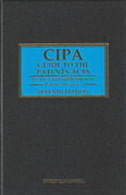Cover of CIPA Guide to the Patents Acts 7th ed
