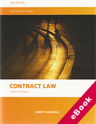 Cover of Contract Law Textbook (eBook)